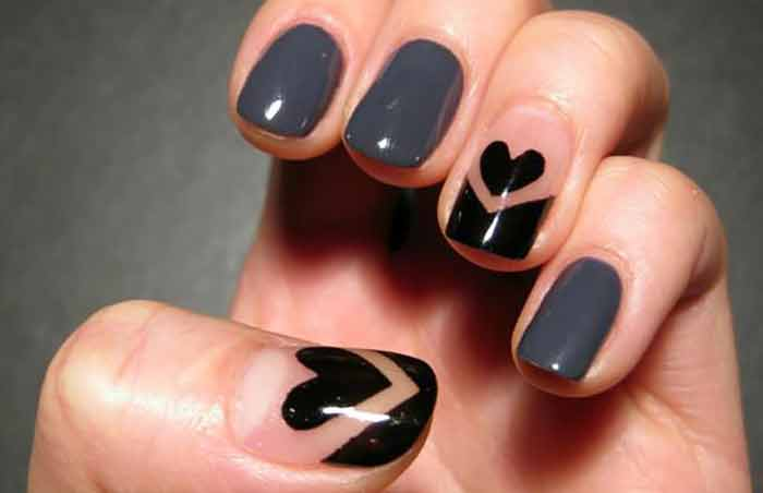 Cute Easy Nail Designs For Really Short Nails - Design and House ...