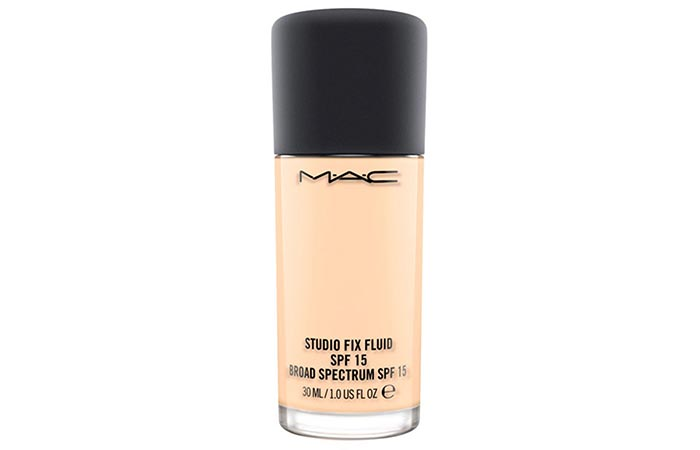 Best Foundations For Asian Skin - 1. MAC Studio Fix Fluid SPF 15 Foundation