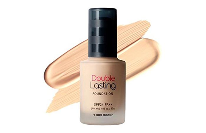 Best Foundations For Asian Skin - 6. Etude House Double Lasting Foundation