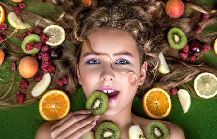 How To Look Beautiful Without Makeup - 1. Eat Your Way To Glowing Skin