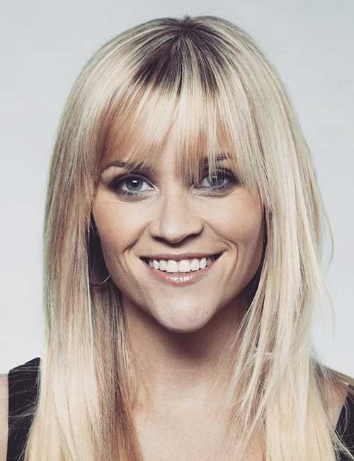 Best Hairstyles For Heart-shaped Face - Reese Witherspoon