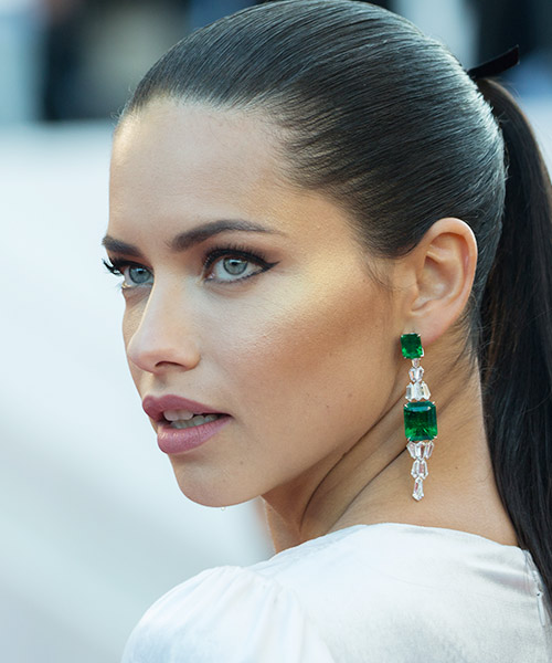 6. Adriana Lima - Famous Celebrity With The Most Beautiful Eyes In The World
