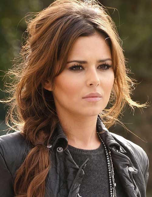 Best Hairstyles For Heart-shaped Face - Cheryl Cole