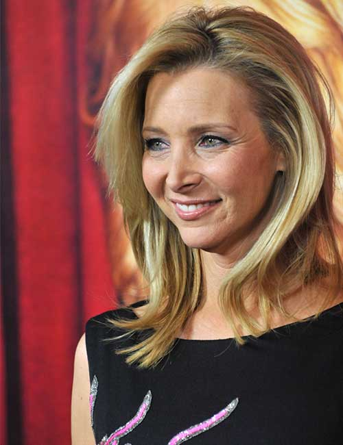Best Hairstyles For Heart-shaped Face - Lisa Kudrow