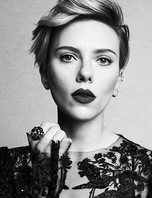 Best Hairstyles For Heart-shaped Face - Scarlett Johansson