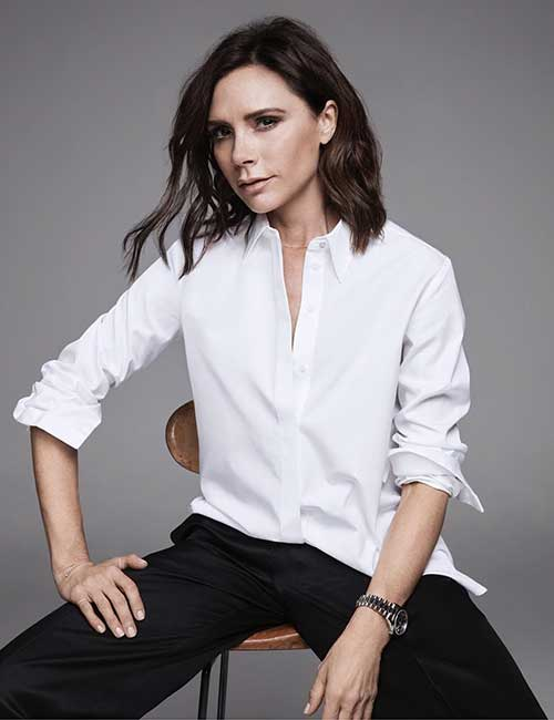Best Hairstyles For Heart-shaped Face - Victoria Beckham