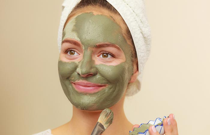 Mint And Clay Face Pack