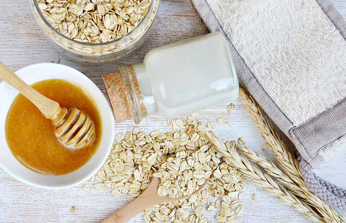 Mint And Oats Face Pack For Acne