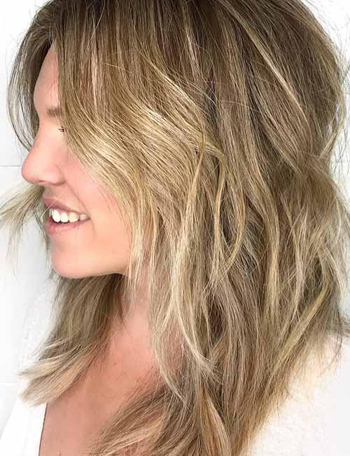 Best Long Hair With Bangs Looks - Spiky Long Bangs