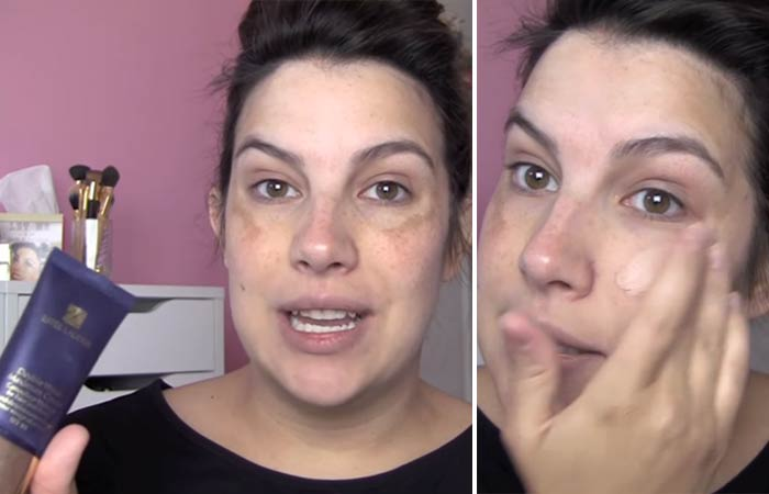 How To Hide Pimples With Makeup - Step 2 Go In With Your Foundation