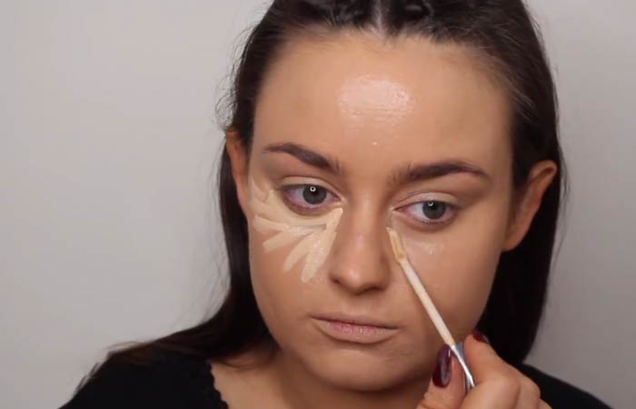 How To Hide Pimples With Makeup - Step 4 Add Some Concealer