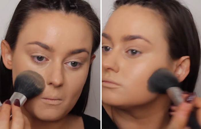 How To Hide Pimples With Makeup - Step 5 Set Your Face With A Setting Powder