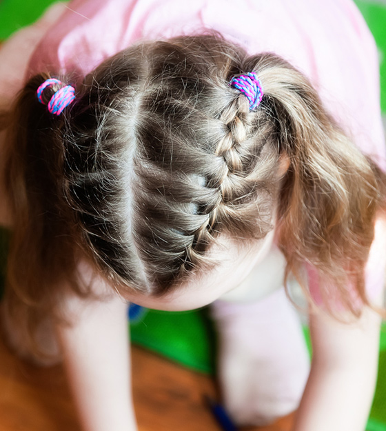 Stylish Hairstyles For Your Little Girl1 Pinit