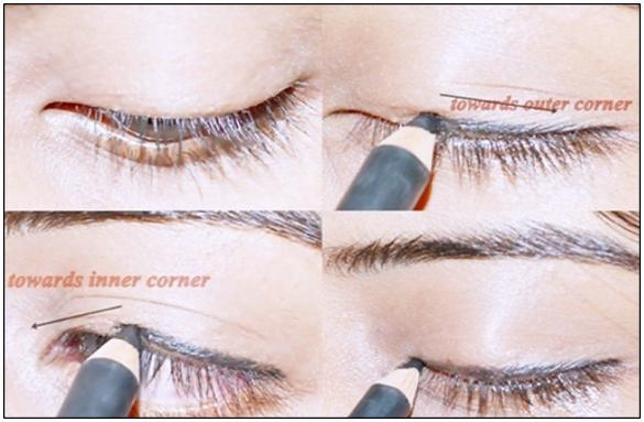 Wear pencil eyeliner the right way