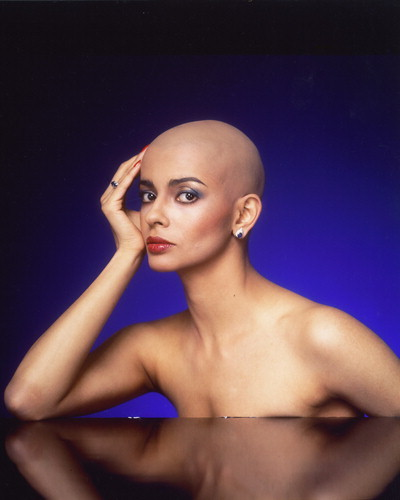 bald look for women Head Scarves For Bald Women
