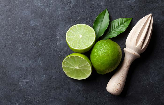 9. Besan And Lime Juice Face Pack