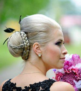 Simple 2 Minute Hairstyle: Princess Braid And Bun