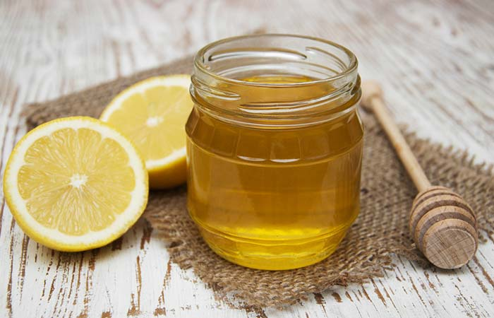 Honey And Lemon Mask To Get Soft Pink Lips