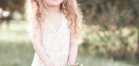 50 Easy Wedding Hairstyles For Little Girls