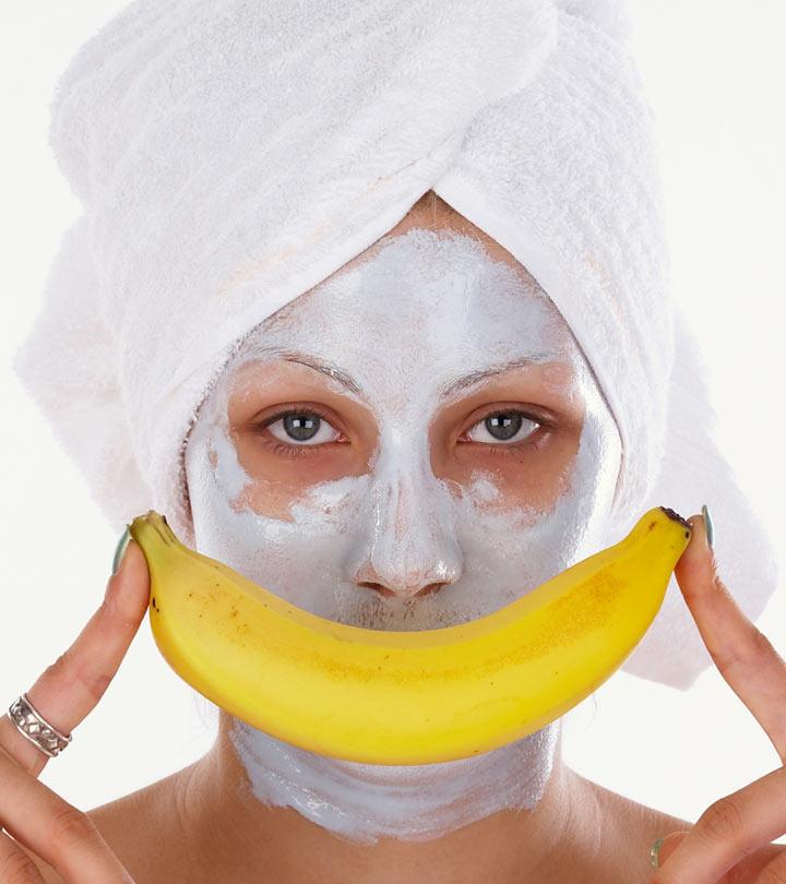 Homemade banana face packs and face masks for dry skin in winter banana face pack for winter dry skin solutioingenieria Images