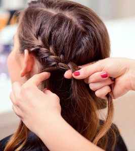 Braided Twister Hairstyle – DIY