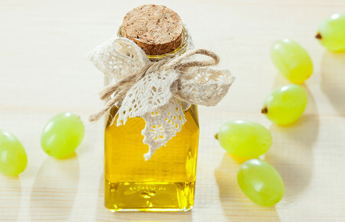 Dryness Around Eyes - Grapeseed-Oil
