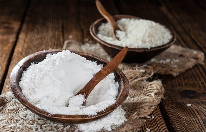 Rice-Flour-Face-Pack-For-Skin-Lightening