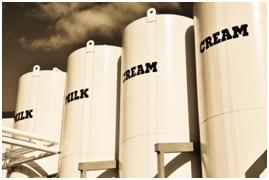 Milk and Milk Cream