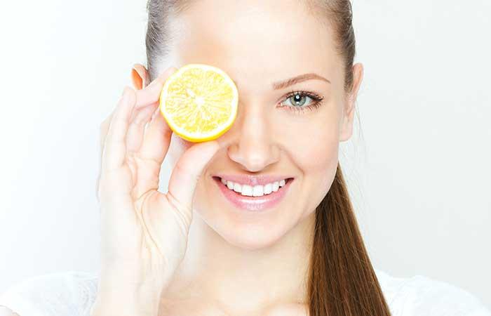 Fruits For Skin - Lemon
