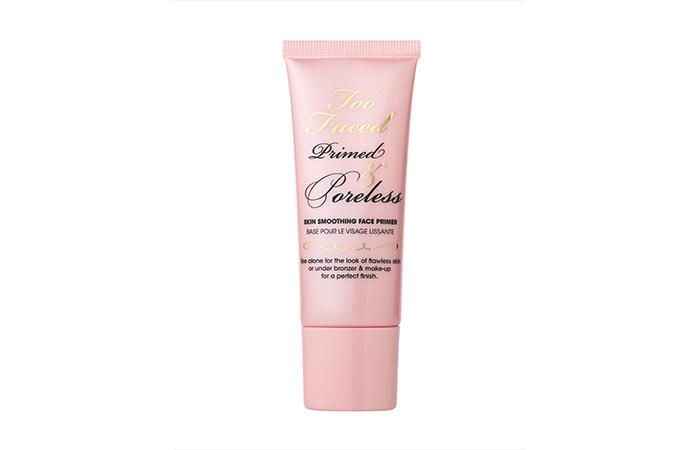 Too Faced Primed & Poreless Skin Smoothing Face Primer - Best Primer for Oily Skin