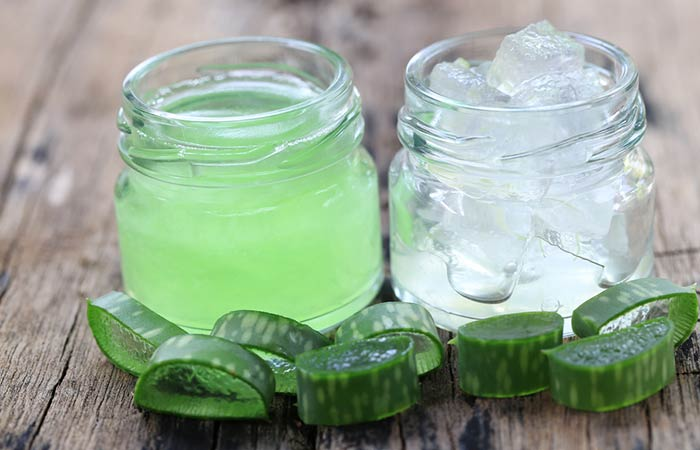 Homemade Conditioners For Curly Hair - Aloe Vera And Sweet Almond Oil Hair Conditioner