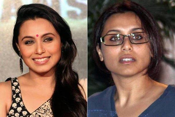 Bollywood Actress Rani Mukherjee Without Makeup
