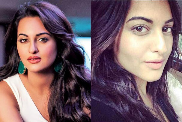 Bollywood Beauty Sonakshi Sinha No Makeup Picture