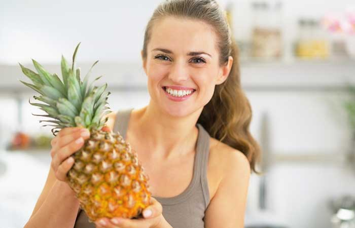 Fruits For Glowing Skin - Pineapple