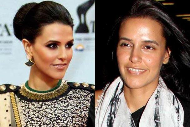 Bollywood Actress Neha Dhupia Without Makeup