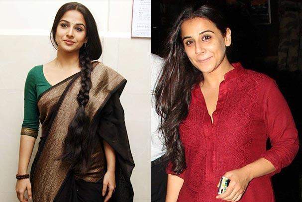 Bollywood Actresses Without Makeup Pictures - 25. Vidya Balan