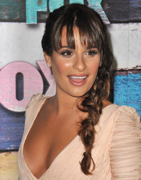 Best Layered Hairstyles With Bangs - Messy Textured Braid