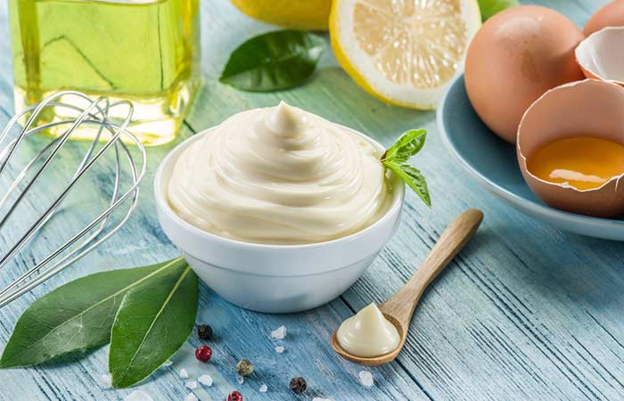 Homemade Conditioners For Curly Hair - Mayonnaise, Yogurt, And Egg White Hair Conditioner