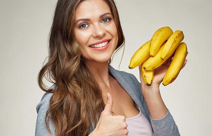 Fruits For Glowing Skin - Banana