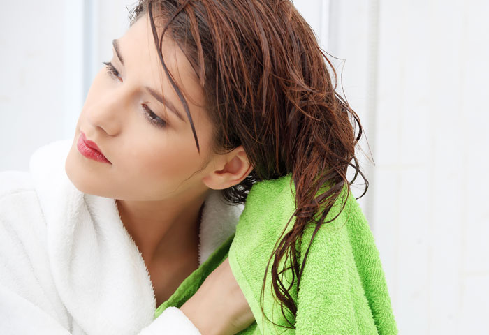 Dry Your Hair Gently