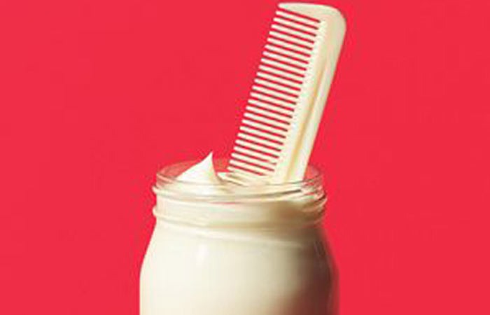 Hair-Conditioning-With-Mayonnaise
