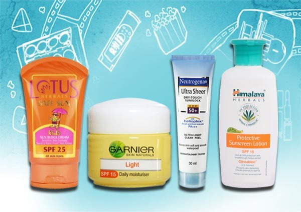 sunscreen topped the list in 2012.