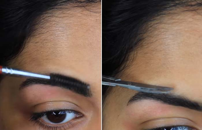 How To Tweeze Your Eyebrows - Step 5 Time To Trim
