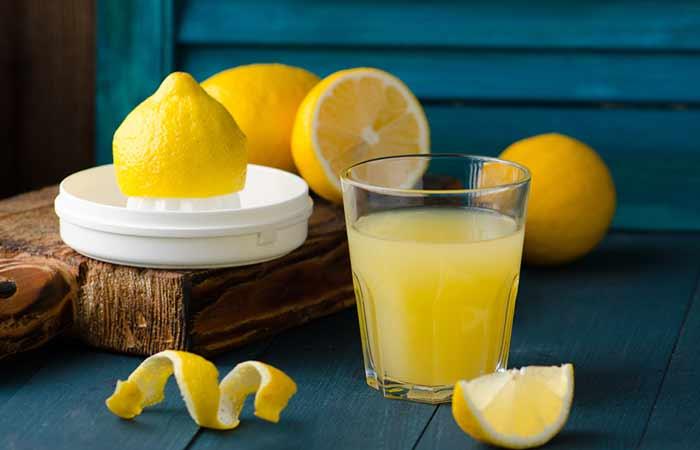 13. Lemon Juice And Baking Soda