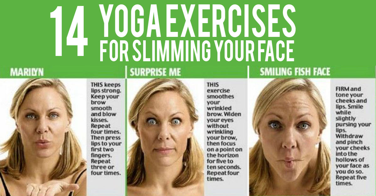 Facial exercises for women