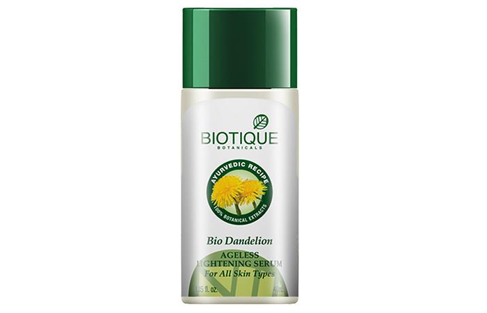 5.-Biotique-Bio-Dandelion-Ageless-Lightening-Serum