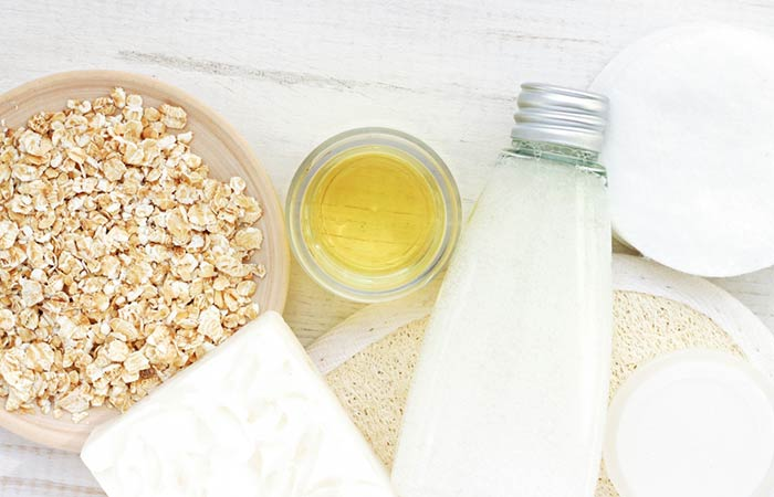 5. Potato And Oatmeal Face Mask For Oily Skin