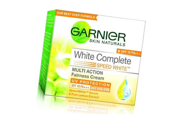 Skin Lightening Creams - Garnier Skin Naturals White Complete Multi Action Fairness Cream
