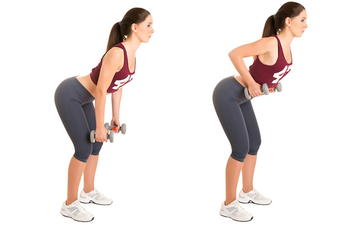 How To Get Rid Of Flabby Arms - Bent Over Row