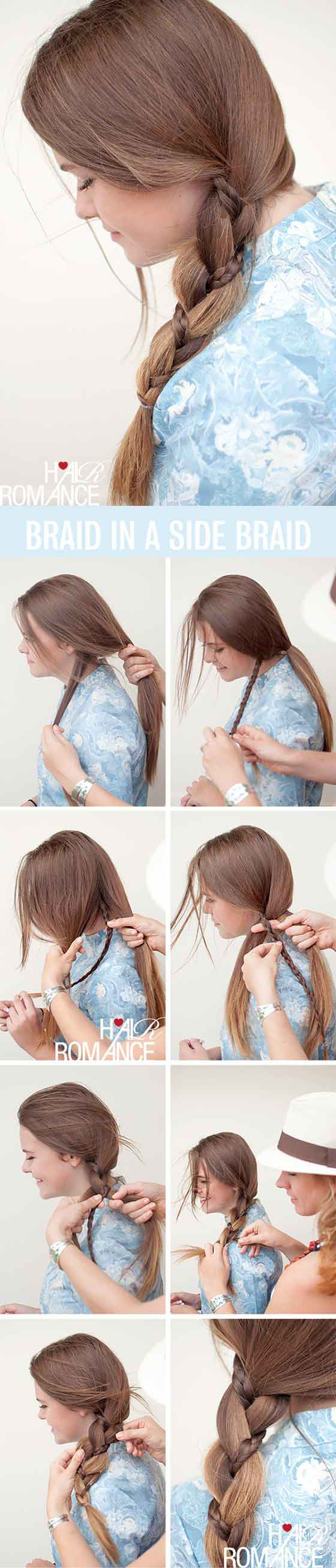 Braid-In-A-Side-Braid